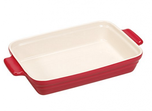 rectangular Red Casserole Dish