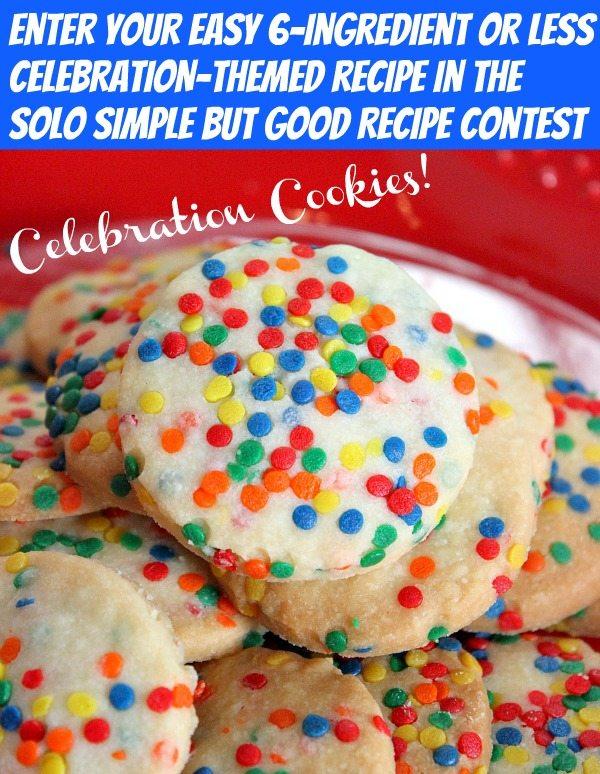 celebration cookies SOLO contest