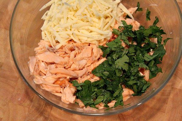 Baked Salmon Taquitos Prep 1