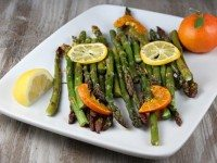 Citrus Roasted Asparagus - RecipeGirl.com