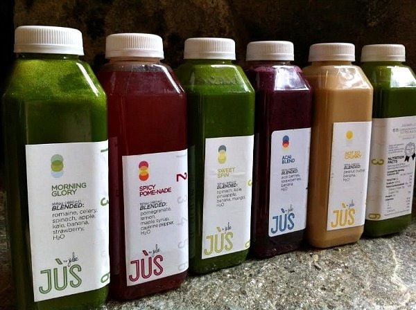 Jus by julie cleanse a review heres the lineup of day 1 first up was the green juice which they refer to as morning glory romaine celery spinach apple kale banana malvernweather Image collections