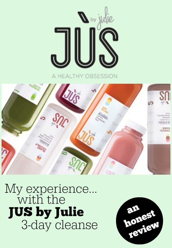 Jus by julie cleanse a review jus by julie 3 day cleanse malvernweather Choice Image