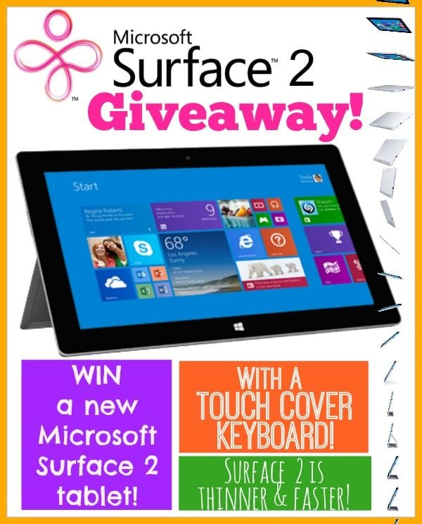 Surface 2 Giveaway Pic
