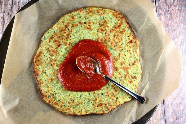 Zucchini Crust Pizza 3