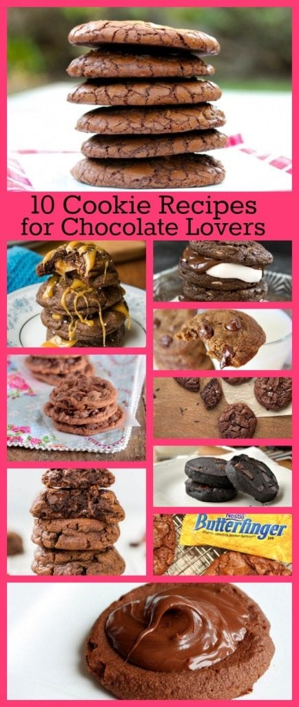 10 Cookie Recipes for Chocolate Lovers