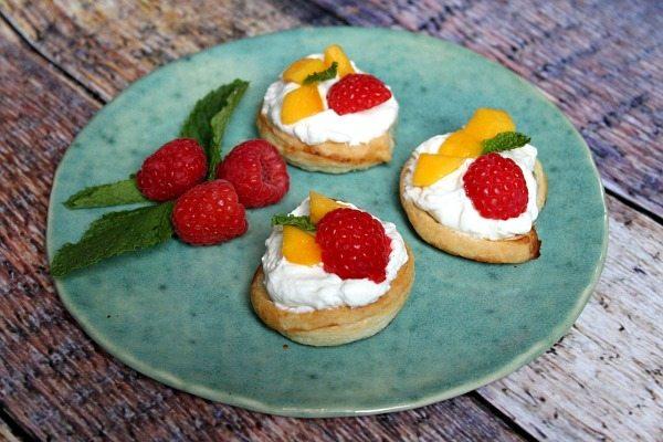 Raspberry- Mango Dessert Bruschetta 6
