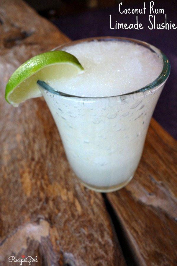 Coconut Rum- Limeade Slushie