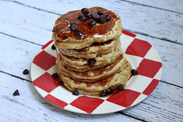 Fluffy Peanut Butter Pancakes