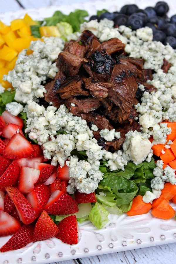Grilled Steak Chopped Summer Salad 2