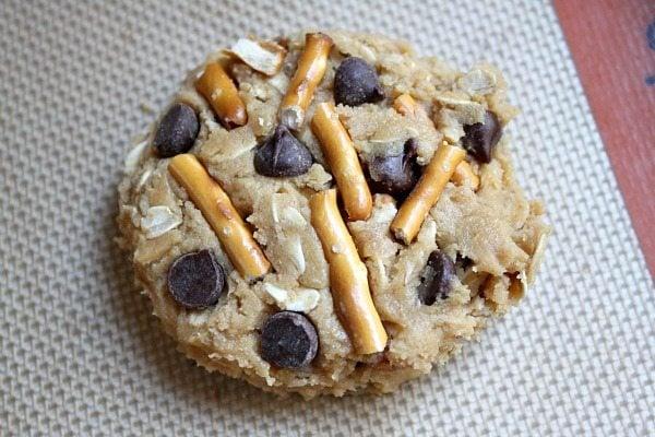 High Energy Peanut Butter Breakfast Cookies Dough