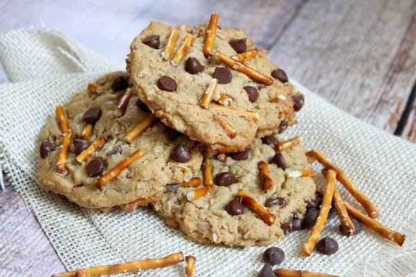 High Energy Peanut Butter Breakfast Cookies