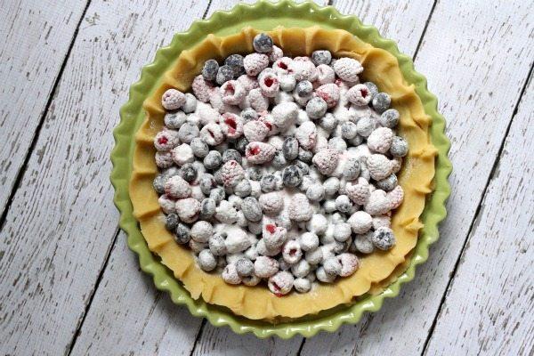 Raspberry- Blueberry Pie 3