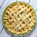 Raspberry- Blueberry Pie 4