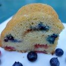 Red White and Blue Coffee Cake