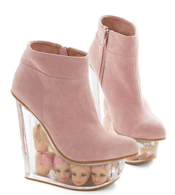 Barbie Head Wedges