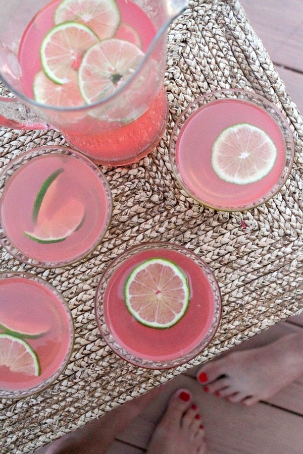 Beach House Cosmos - recipe from RecipeGirl.com