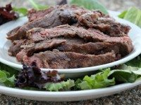 Marinated, Grilled Skirt Steak