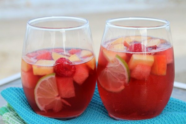 Rose Sangria Recipe 600