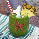 Tropical Green Smoothie #recipe