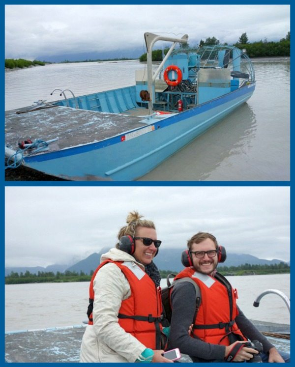 Airboat Ride to Child's Glacier