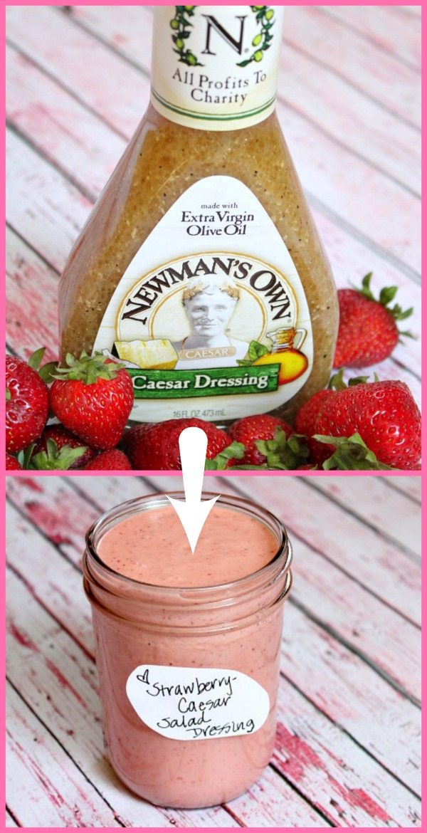 Strawberry Caesar Salad Dressing