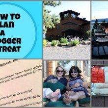Blogger Retreat Collage