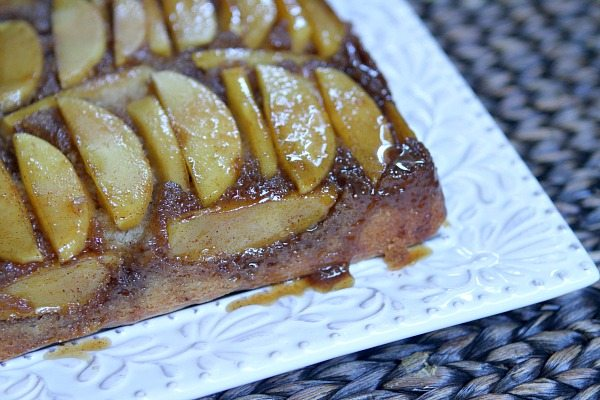 ... recipe for using up a bounty of apples: Caramel Apple Upside Down Cake