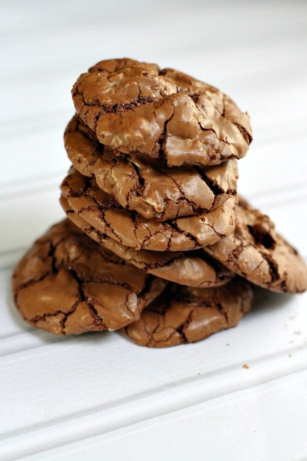 Chocolate Toffee Cookies #recipe - RecipeGirl.com