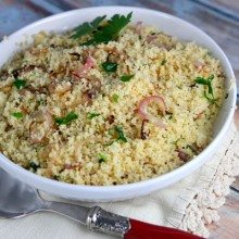 Couscous with Parsley and Shallots
