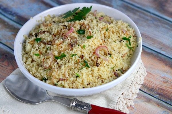 Couscous Recipe With Parsley And Shallots Recipegirl
