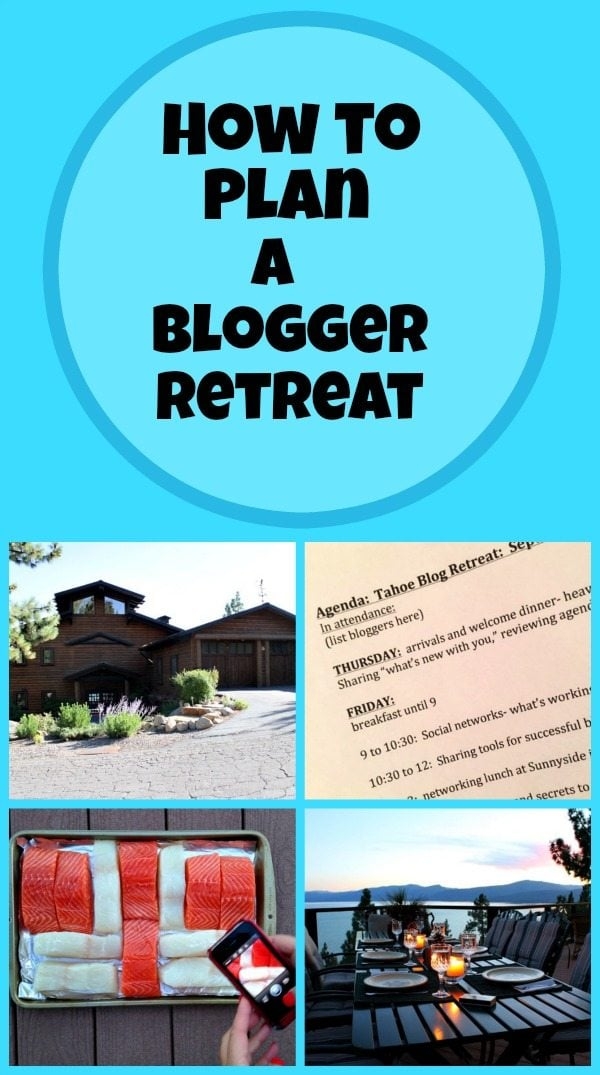 How to Plan a Retreat for Bloggers