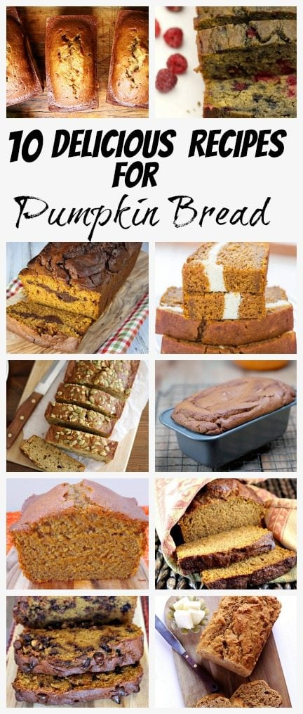 Pumpkin Bread Recipes