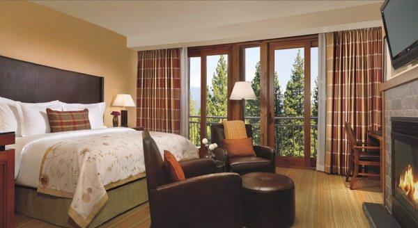 Ritz Carlton Lake Tahoe Deluxe Room