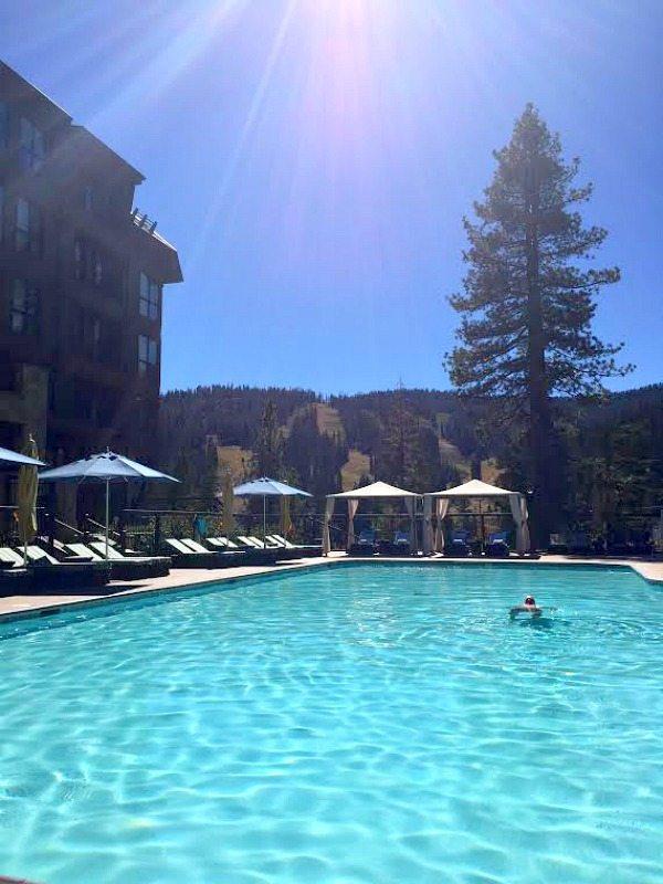 Ritz Carlton Tahoe Pool