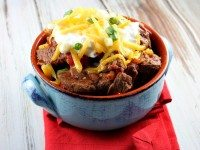 Steak and Beer Chili