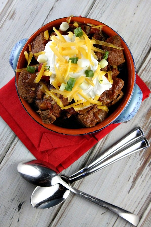 Steak and Beer Chili #recipe