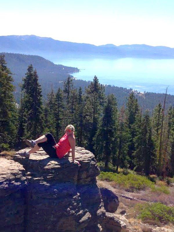 Tahoe Rim Trail View