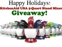 KitchenAid USA Stand Mixer Giveaway