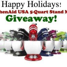 KitchenAid USA Stand Mixer Giveaway