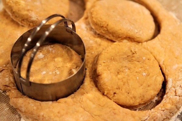 Pumpkin Biscuits Prep