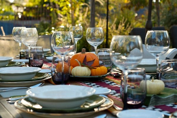 Friendsgiving dinner party menu recipegirl - Interesting tables capes for christmas providing cozy gathering space ...