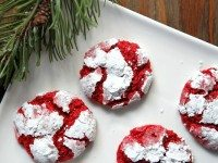 Red Velvet Gooey Butter Cookies 2
