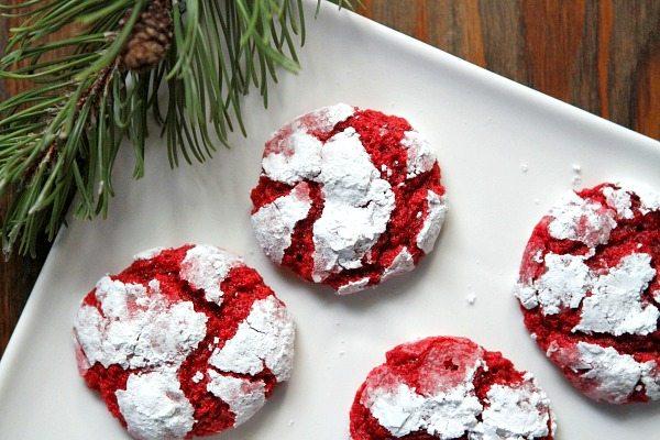 Red Velvet Gooey Butter Cookies 2