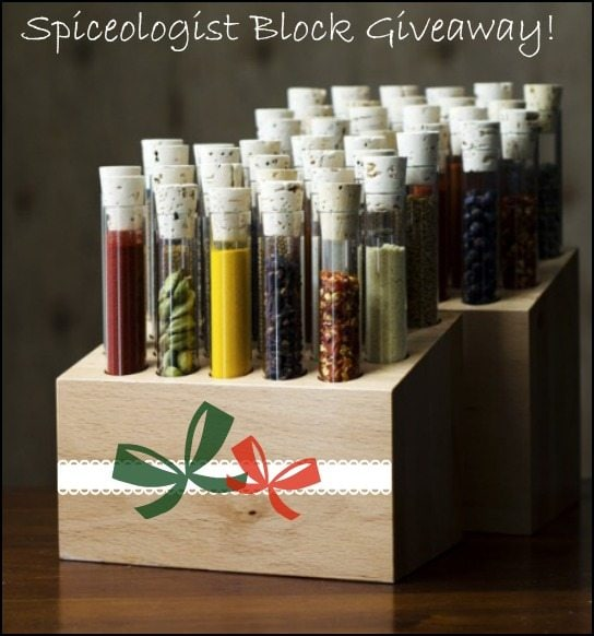 Spiceologist Block Giveway