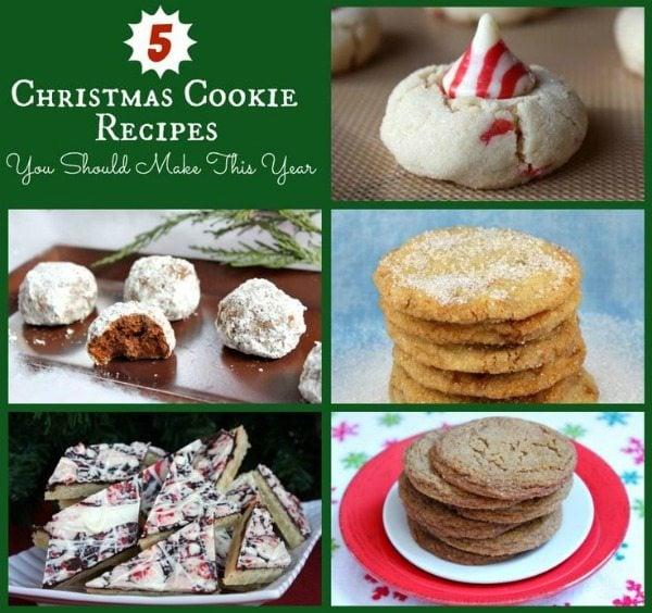 5 Christmas Cookies