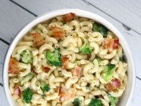 Bacon and Broccoli Macaroni and Cheese