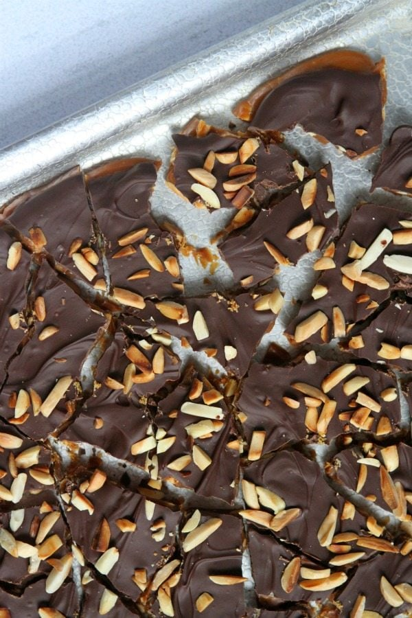Coffee Toffee Recipe