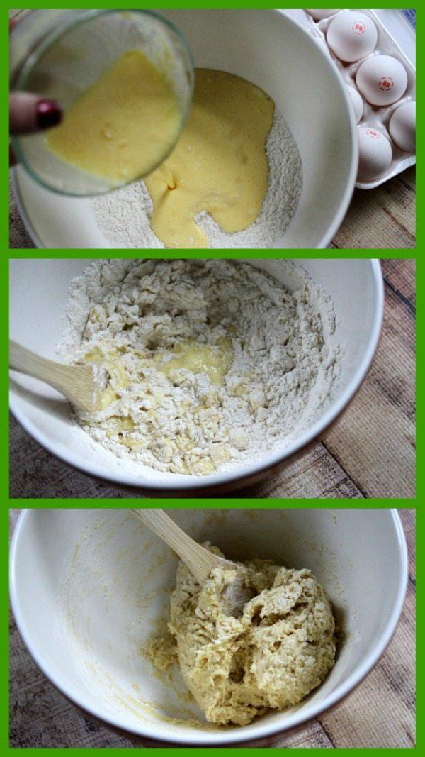 Eggnog Cinnamon Rolls Prep 2