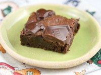 Milk Chocolate Truffle Brownies