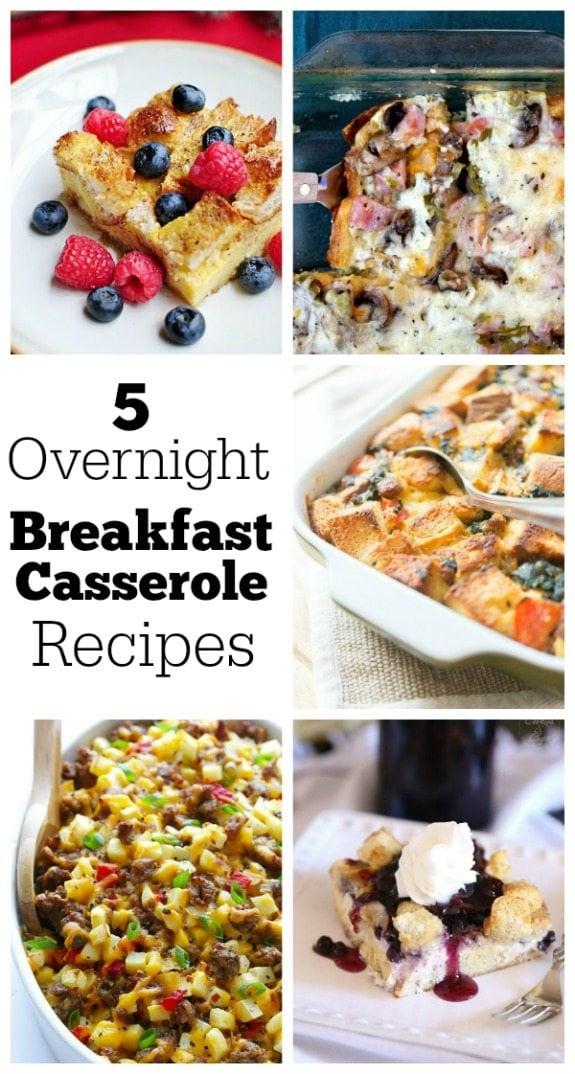 Overnight Breakfast Casserole Recipes
